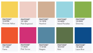 Pantone Colors of Spring 2017