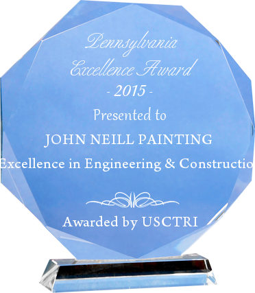 Award-Winning Year - 2015 Pennsylvania Excellence Award in Engineering & Construction