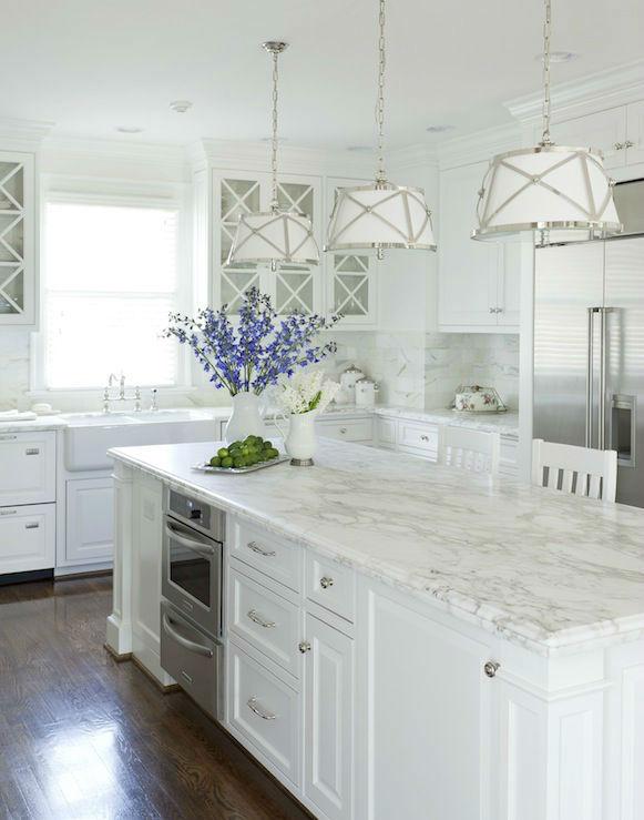 Benjamin Moore Dove White Kitchen