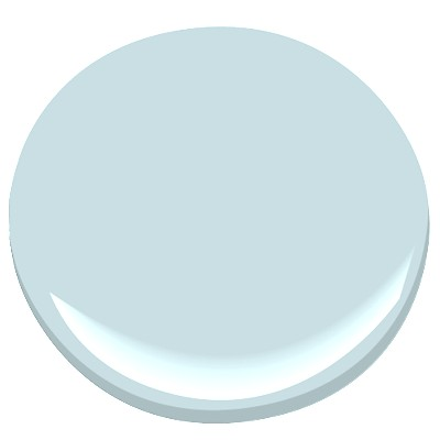 Bathroom Paint Color Glacier Blue