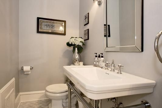 Wickham Gray Bathroom Paint Color