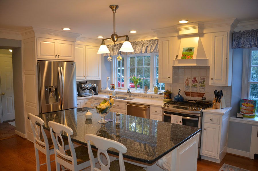 kitchen cabinet refinishing white cabinets - Kitchen Cabinet Restoration