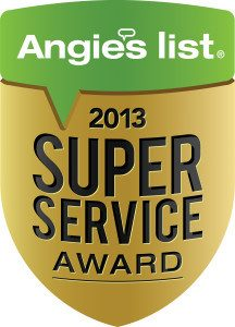 Angie's List 2013 Super Service Award ~ John Neill Painting