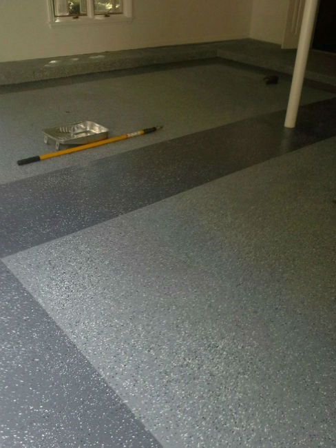 Epoxy Garage Floor Coatings by John Neill Painting Serving Pennsylvania