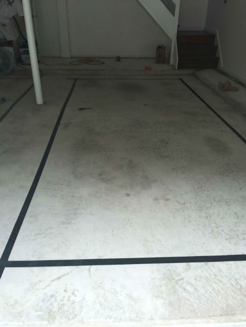 Garage Floor Prep Work for Epoxy Coating