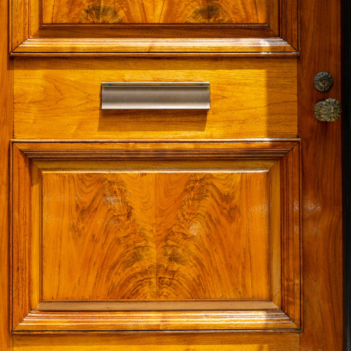 Door stain work by John Neill Painting