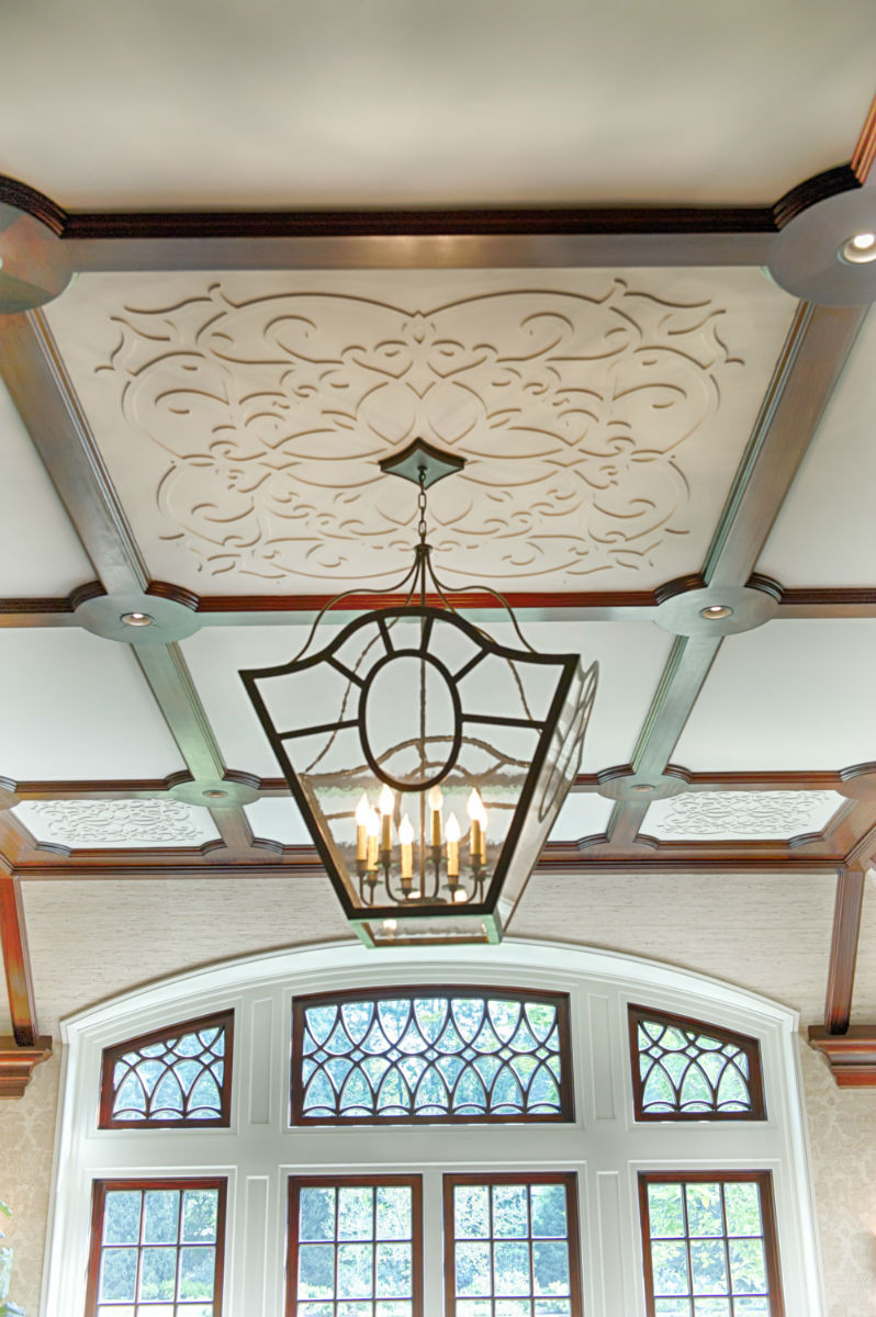Ceiling detail work by John Neill Painting