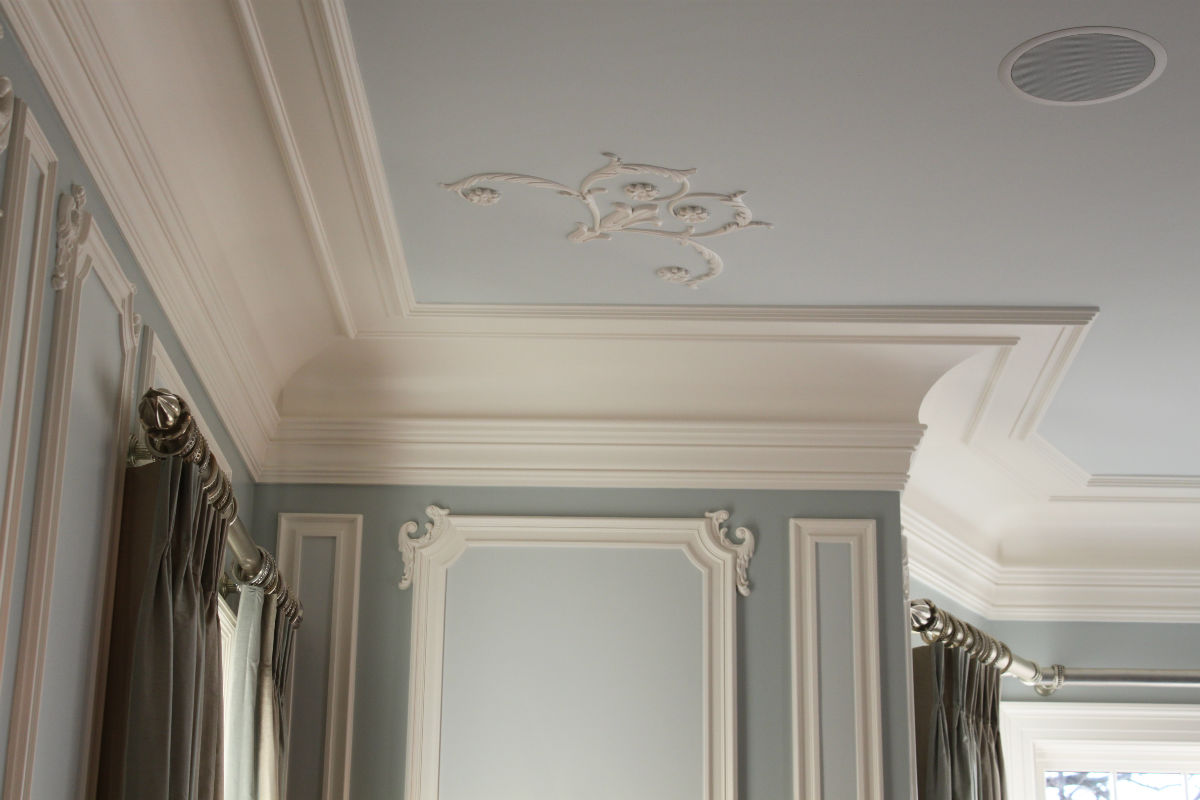Ceiling Filigree work by John Neill Painting.
